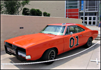 confederate flag, General Lee, Dodge Charger