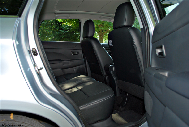 Mitsubishi, ASX, rear seats