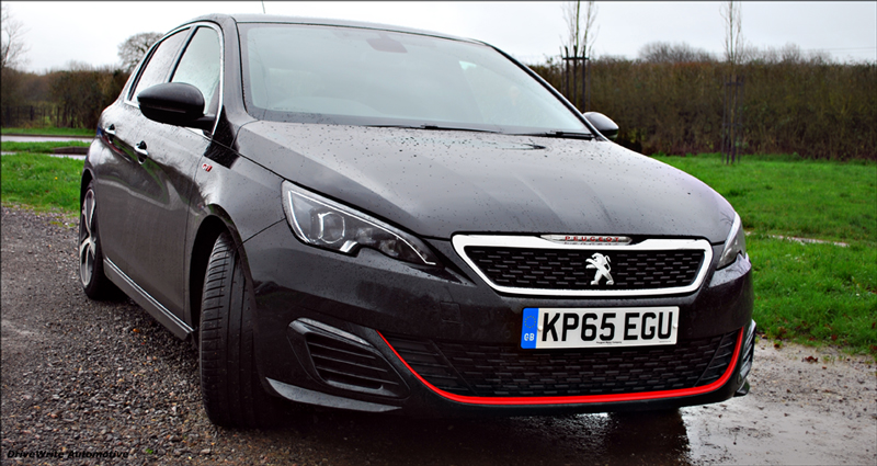 Peugeot 308 GTi, DriveWrite Automotive