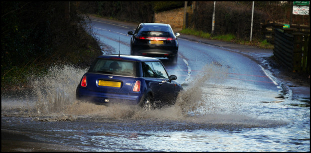 floods, driving, FEV, DriveWrite Automotive, flood