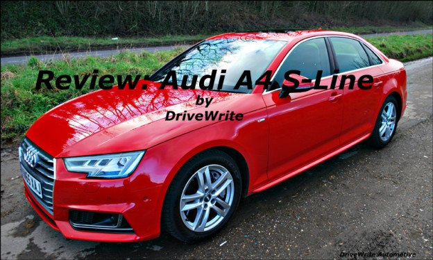DriveWrite Automotive, Audi A4, motoring blog