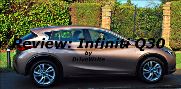 Infiniti, Q30, DriveWrite Automotive, car blog, motoring blog