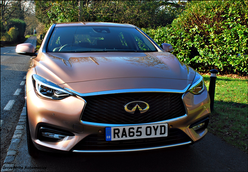 car blog, motoring blog, Infiniti, Q30, DriveWrite Automotive