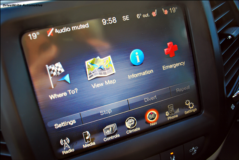 Jeep Cherokee, Uconnect, DriveWrite Automotive