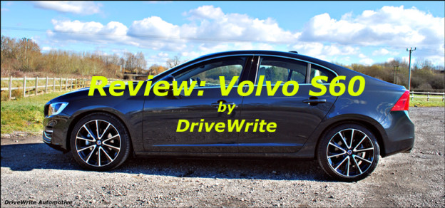 Volvo S60, DriveWrite Automotive, Motoring blog, car blog