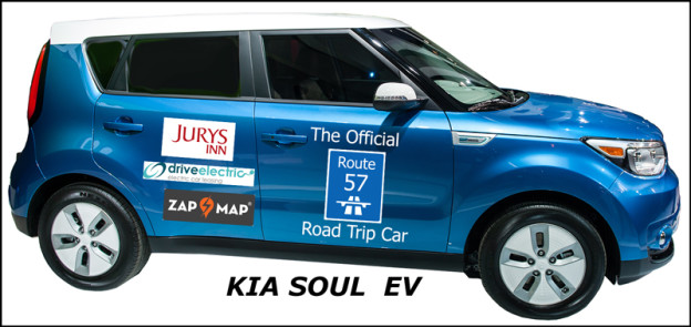 Route 57, Kia Soul, electric car, EV, DriveWrite Automotive, car blog, motoring blog