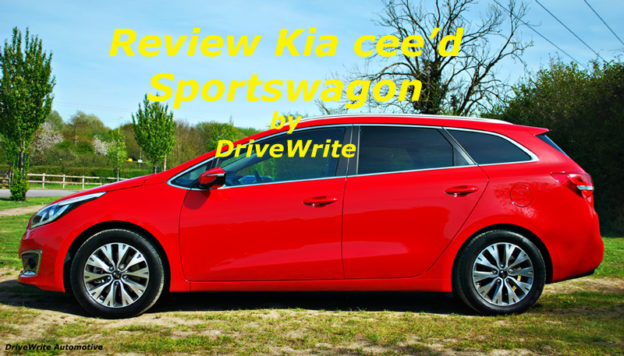 Kia cee'd Sportswagon, DriveWrite Automotive, car blog, motoring blog