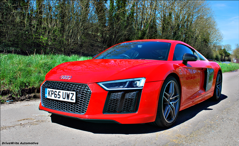 Audi R8 V10 Plus, DriveWrite Automotive, supercar, car blog, motoring blog, sports car