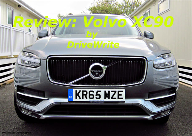 Volvo XC90, DriveWrite Automotive, car blog, motoring blog