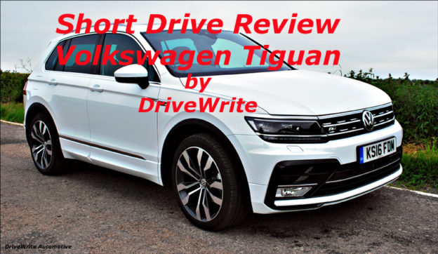 Volkswagen Tiguan, motoring blog, car blog, DriveWrite Automotive