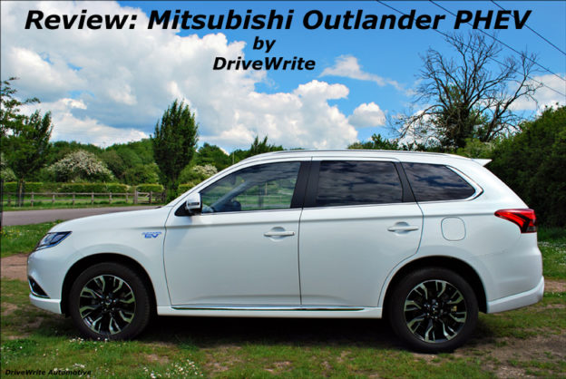 Mitsubishi Outlander PHEV, DriveWrite Automotive, car blog, motoring blog