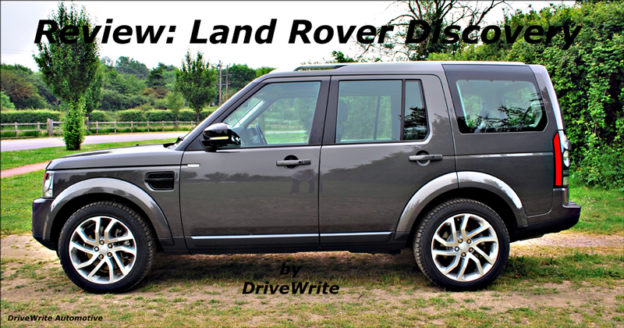 Land Rover Discovery, DriveWrite Automotive, car blog, motoring blog