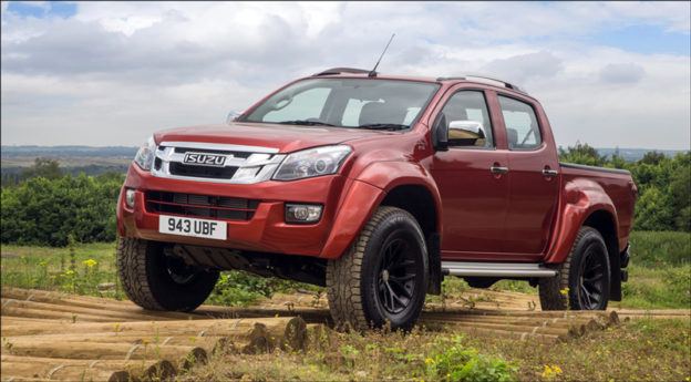 Isuzu, Arctic D-Max, DriveWrite Automotive, car blog, motoring blog