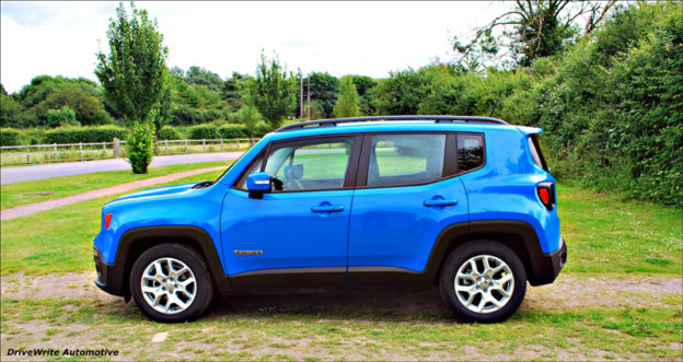 Jeep Renegade, DriveWrite Automotive, car blog, motoring blog
