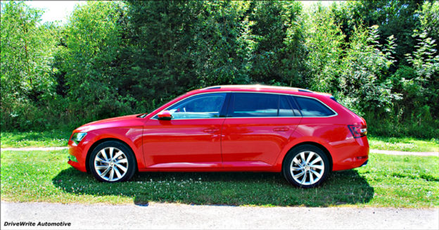 Skoda Superb, Estate, 4x4, DriveWrite Automotive, car, motoring, blog, website