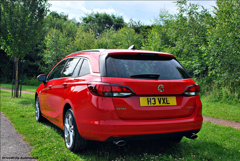Vauxhall Astra Sports Tourer, DriveWrite Automotive, car blog, motoring blog