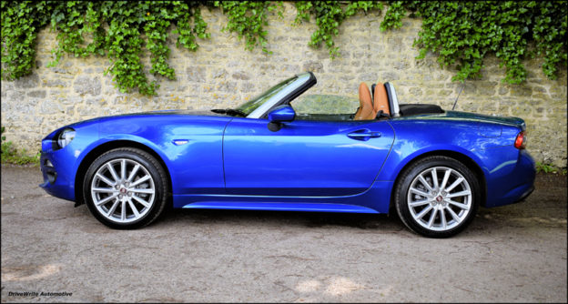 FIAT 124 Spider, FIAT, new car, sports cars, Italian cars, DriveWrite Automotive, motoring blog, car blog