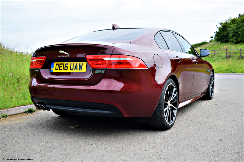 Jaguar XE, R-Sport, executive saloon, ingenium engine, diesel, Project 8, new cars, used cars, business cars, DriveWrite Automotive, motoring blog, car blog