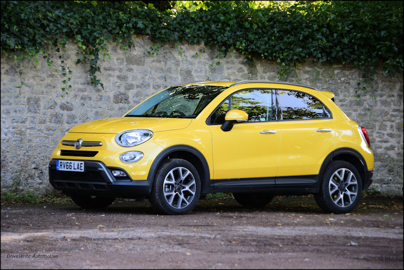 FIAT 500X, suv, crossover, italian cars, 4x4, family cars, DriveWrite Automotive, motoring blog, car blog