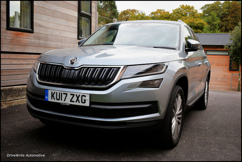 Skoda Kodiaq, Skoda, SUV, family car, new cars, crossover, 4x4, four-wheel drive, DriveWrite Automotive, motoring blog, car blog