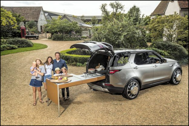 Grange, Jamie Oliver, Land Rover, Discovery, Land Rover Discovery, new cars, SUV, food, cooking, lifestyle, autos, family, DriveWrite, Automotive, motoring blog, car blog